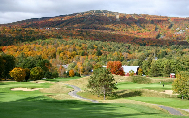 Beautiful Okemo Golf Course